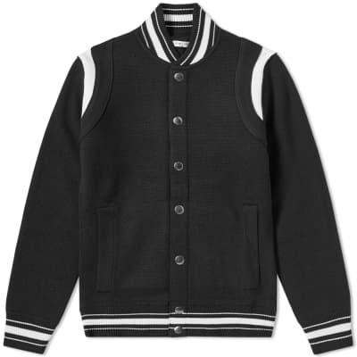 Givenchy 4G Knitted Varsity Jacket