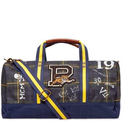 Polo Ralph Lauren Black Watch Tartan Patch Duffel Bag
