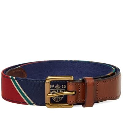 Polo Ralph Lauren Varsity Patchwork Belt