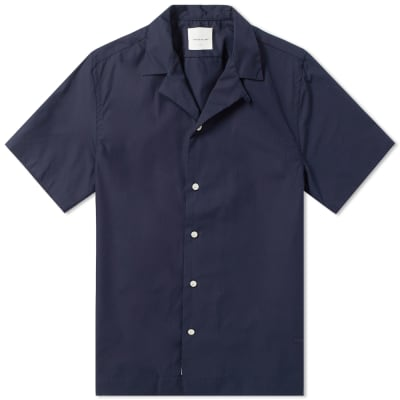 Wood Wood Brandon Plain Vacation Shirt