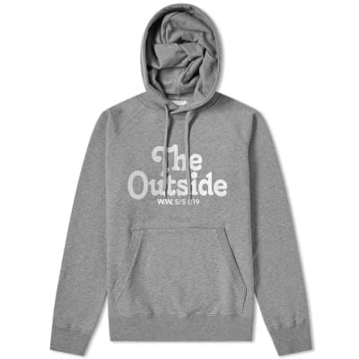 Wood Wood Fred The Outside Popover Hoody