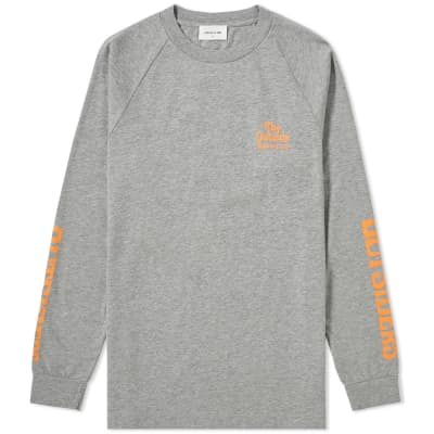 Wood Wood Long Sleeve Han Outsiders Tee