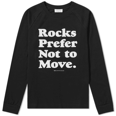 Wood Wood Long Sleeve Han Rocks Tee