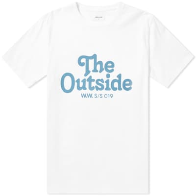Wood Wood The Outside Tee