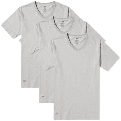 WTAPS Skivvies V Neck Tee - 3 Pack