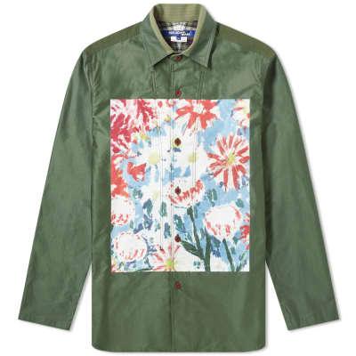 Junya Watanabe MAN Floral Print Overshirt