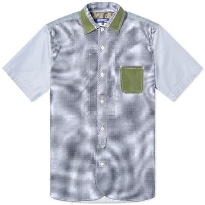 Junya Watanabe MAN Short Sleeve Patch Pocket Shirt