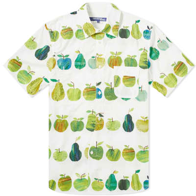 Junya Watanabe MAN x Tracey English Apple Print Shirt