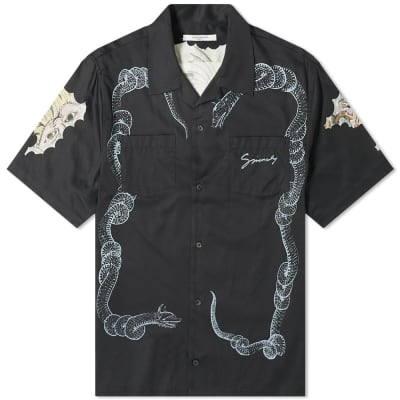 Givenchy Snake & Icarus Hawaiian Shirt