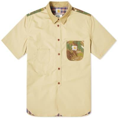 Junya Watanabe MAN eYe x Carhartt Camo Patch Shirt