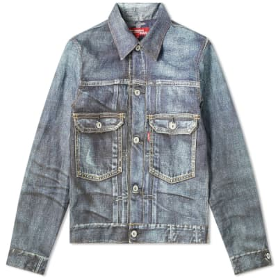 Junya Watanabe MAN eYe x Levi's Damaged Canvas Jacket