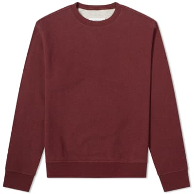 Maison Margiela 14 Classic Elbow Patch Crew Sweat