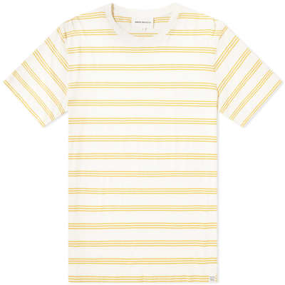 1ee9d5d8f26 Norse Projects Johannes Cotton Linen Stripe Tee