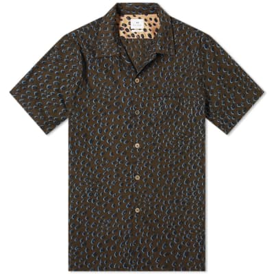 Paul Smith Leopard Print Vacation Shirt