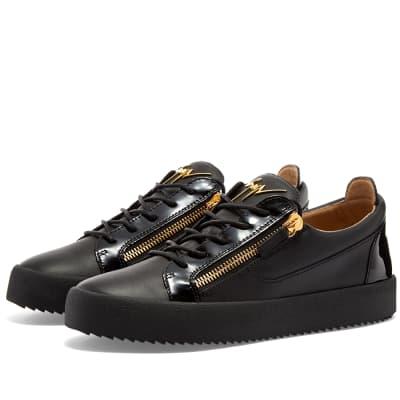 Giuseppe Zanotti Double Zip Low Sneaker