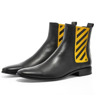 ee7366b2 Off-White Diagonals Chelsea Boot