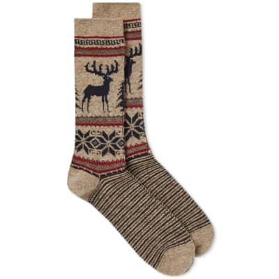 Anonymous Ism Deer Snow Sock