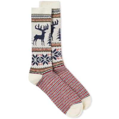 Anonymous Ism Deer Snow Socks