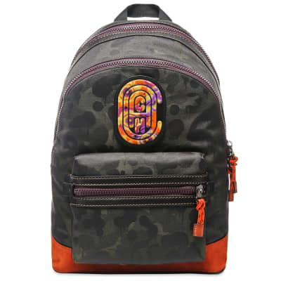 Coach x Kaffe Fassett Wild Beast Patch Backpack