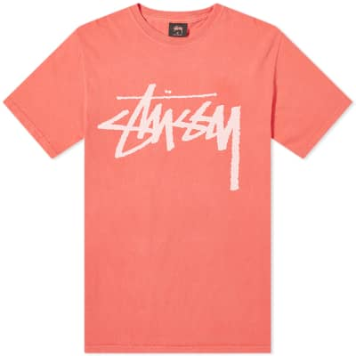 Stussy Stock Pigment Dyed Tee