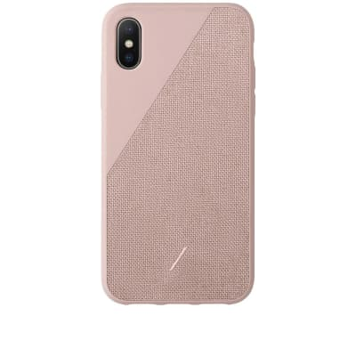 Native Union CLIC CANVAS iPhone XS Case