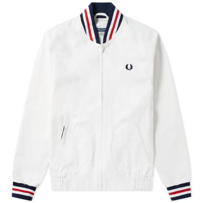Fred Perry Reissues Made in England Original Tennis Bomber Jacket