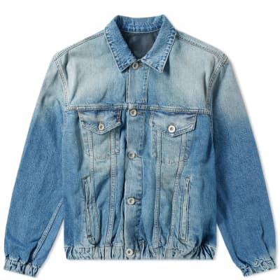 Unravel Project Oversized Denim Jacket