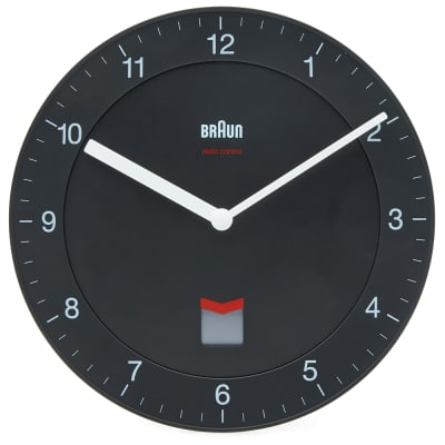 Braun Radio Controlled Wall Clock DCF Version