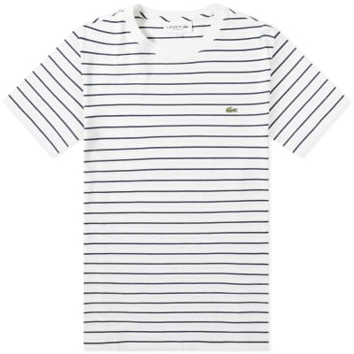 Lacoste Narrow Stripe Tee