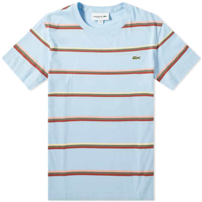 Lacoste Triple Stripe Tee