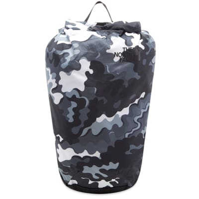 The North Face Psychedelic Camo Flyweight Rolltop Backpack