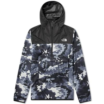 The North Face Psychedelic Camo Novelty Fanorak Jacket