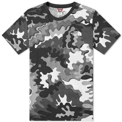 The North Face Psychedelic Camo Simple Dome Tee