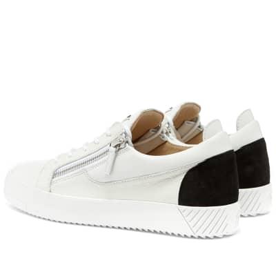 Giuseppe Zanotti 2 Tone Zip Low Sneaker