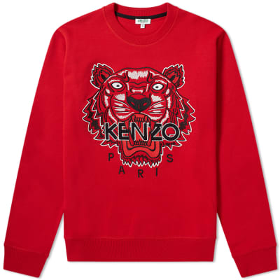 Kenzo Tiger Embroidered Crew Sweat