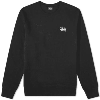 Stussy Basic Crew Sweat