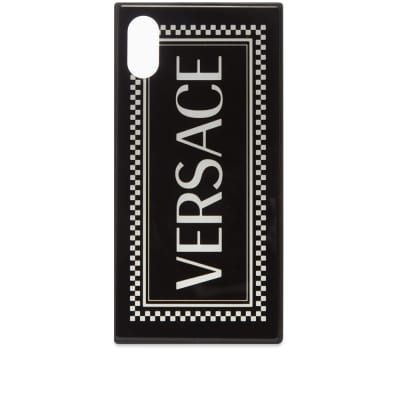 Versace Split Logo iPhone X/XS Case