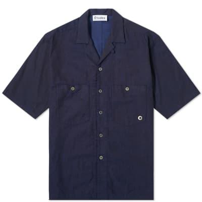 Études Short Sleeve Valley Denim Shirt