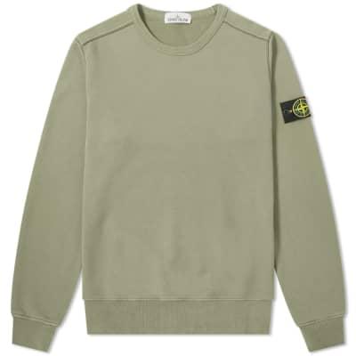 Stone Island Garment Dyed Crew Sweat