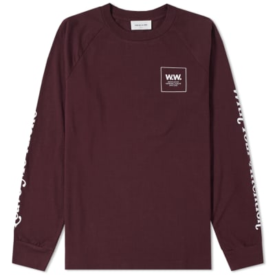 Wood Wood Long Sleeve Han Tee