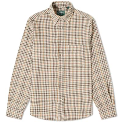 Gitman Vintage Cotton Gingham Check Shirt