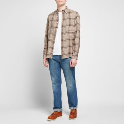 Gitman Vintage Cotton Tweed Check Shirt