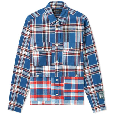 Reese Cooper Double Layered Flannel Shirt