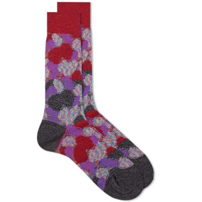 Ayame Winter Camo Sock