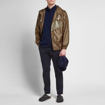 Blue Blue Japan Dyed Fleece Jacket