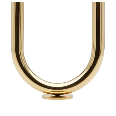 Minimalux Brass U Candle Holder