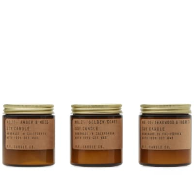 P.F. Candle Co P.F. Essentials Mini Soy Candle Set