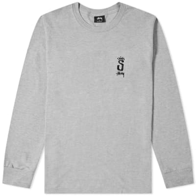 Stussy Long Sleeve S Crown Tee