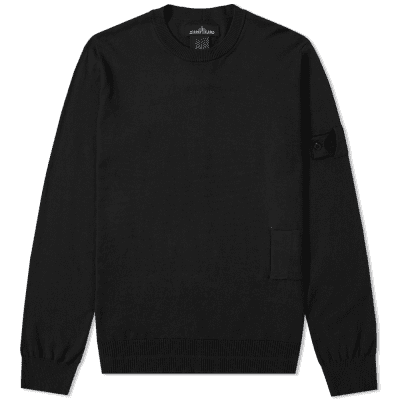 Stone Island Shadow Project Soft Cotton Light Gauge Crew Knit