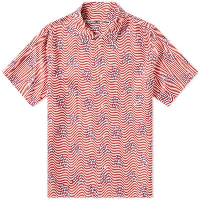 Alexander Wang Flag Print Dragon Shirt